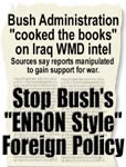 "Stop Bush's ""Enron Style"" Foreign Policy"