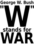 W stands for War